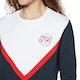Jack Wills Springton Colour Block Crew Womens Sweater