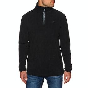 Protest Perfecty 1/4 Zip Top Fleece - True Black