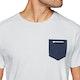 Surf Perimeters Organic Casual In The Pocket Print Short Sleeve T-Shirt