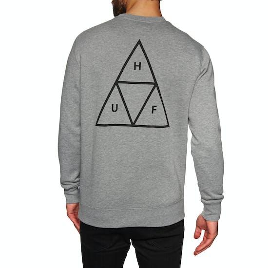 Huf Essentials Triple Triangle Crew Pullover
