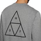 Huf Essentials Triple Triangle Crew Sweater