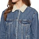 Levi's Exbf Sherpa Trucker Addicted To Love Womens Jacket