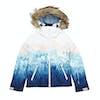 Roxy Jet Ski Girls Snow Jacket - Bright White Snowyvale