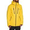 Wear Colour Grid Snow Jacket - Old Gold