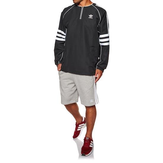 Adidas Originals Auth Woven Tunic Long Sleeve T-Shirt