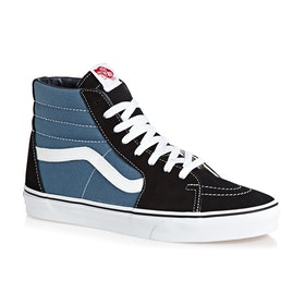Vans Sk8 Hi Shoes - Navy