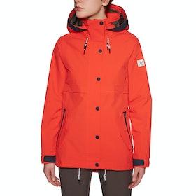Holden Cypress Womens Snow Jacket - Tomato