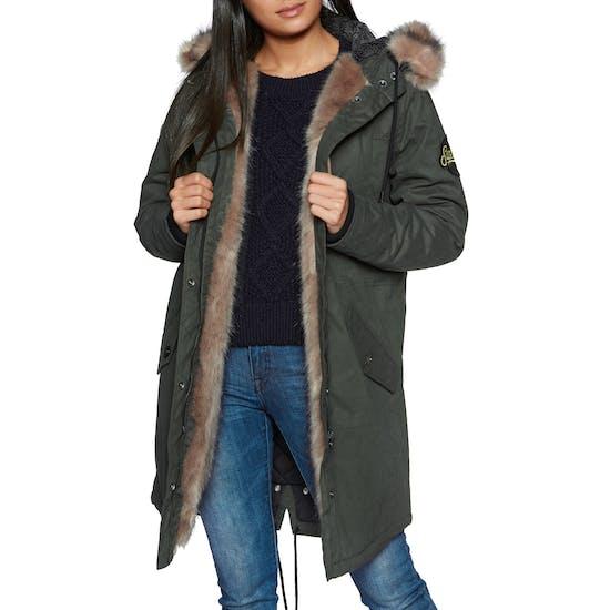 Superdry Frankie Faux Fur Lined Parka Dames Jas