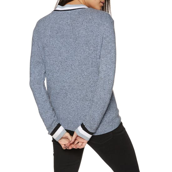 Superdry American Girl Applique Top Womens Sweater