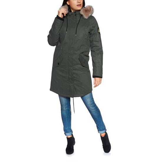 limited style hottest sale kid Superdry Frankie Faux Fur Lined Parka Womens Jacket | Free ...