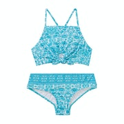 Seafolly Ocean Tapestry Tie Front Mädchen Tankinis