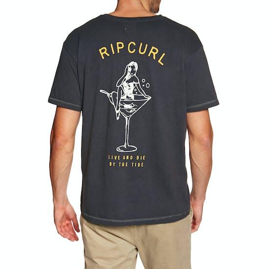 T-Shirt de Manga Curta Rip Curl Pin Up