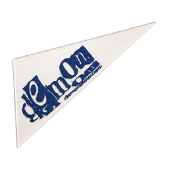 Demon Triangle Wax Scraper Snowboard Tool