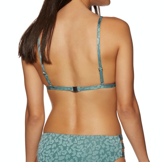 The Hidden Way Lunas Long Tri Bikini Top