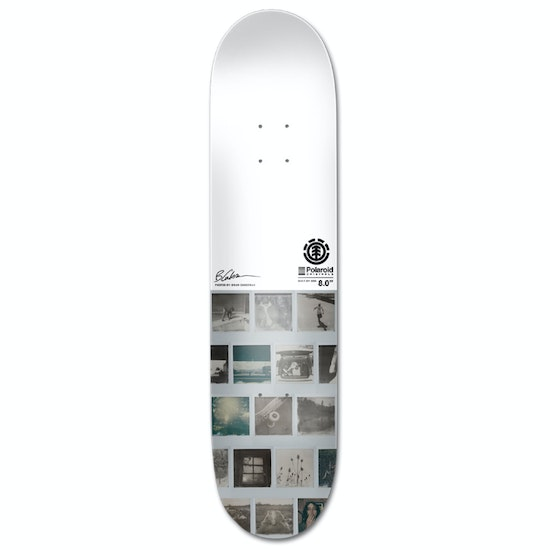Prancha de Skate Element Polaroid Gaberman 8 Inch