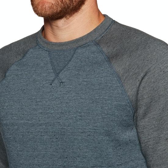 Sweater Element Meridian Block Crew