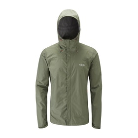 Giacca Rab Downpour Packable - Field Green