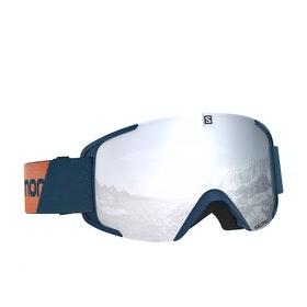 Salomon X View Snow Goggles - Blue/white
