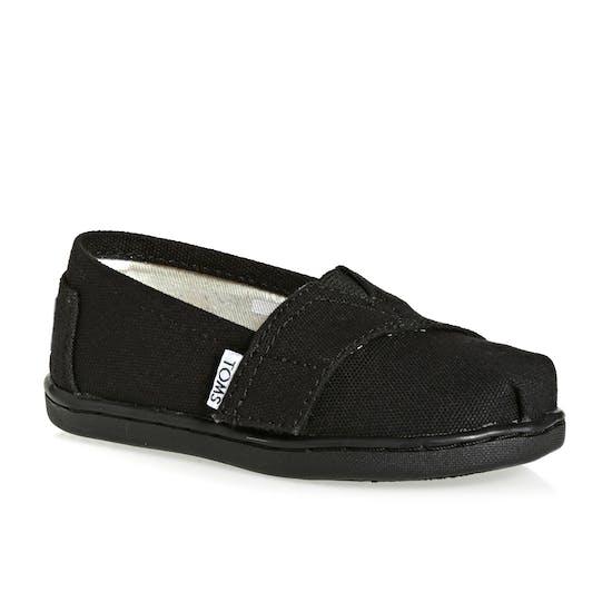 Toms Mini Classics Kids Slip On Shoes