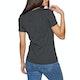T-Shirt de Manga Curta Senhora Superdry Premium Sequin Slim Boyfriend