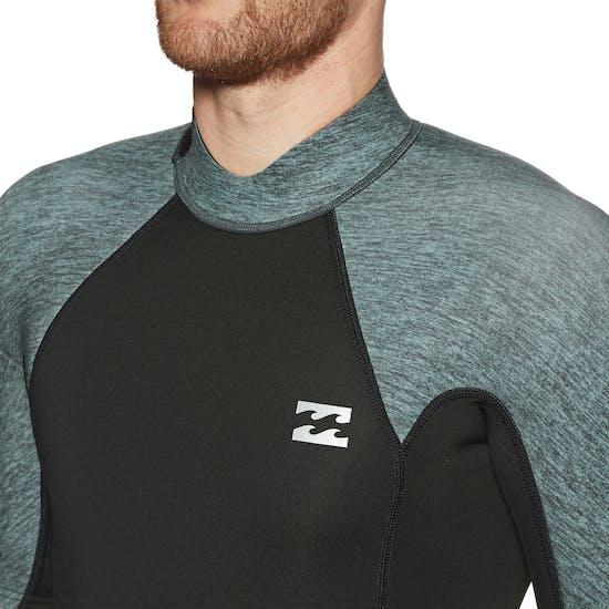 Billabong Absolute 2/2mm Back Zip Short Sleeved Shorty Wetsuit