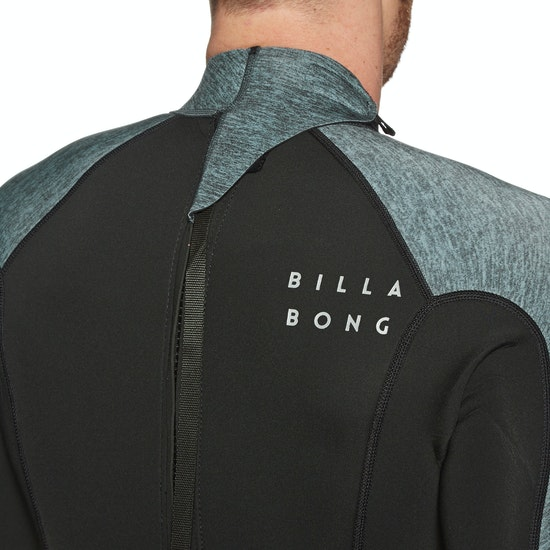 Billabong Absolute 2mm Back Zip Short Sleeved Shorty Wetsuit