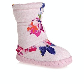 Chaussons Joules Padabout - Pink Marl Granny Floral