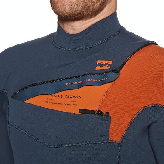 Billabong Furnace Carbon 3/2mm 2019 Chest Zip Mens Wetsuit