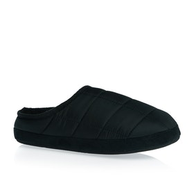 SWELL Quilted Mule Slippers - Black