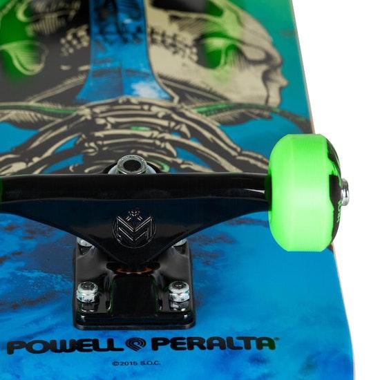 Powell Storm Skull & Snake 7.625 Inch Complete スケートボード