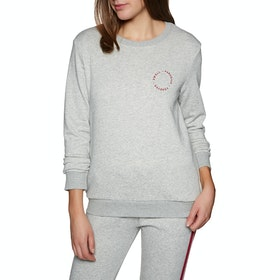 SWELL Evolve Lounge Crew Womens Sweater - Grey Marl