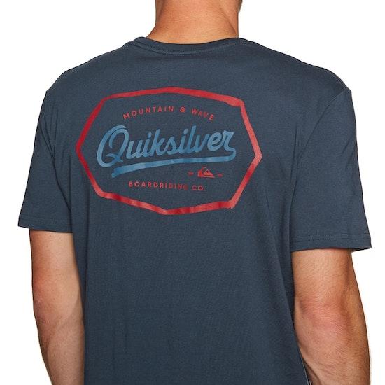 T-Shirt à Manche Courte Quiksilver Live On The Edge