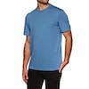 Element Basic Pocket Crew Short Sleeve T-Shirt - Blue Heather