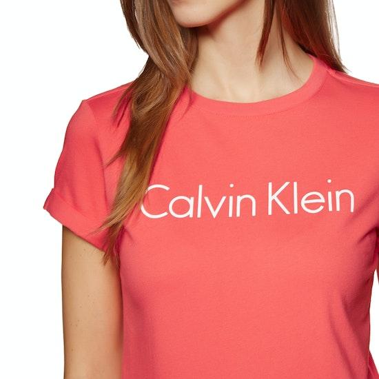 Calvin Klein Cotton Coord Crew Neck Short Sleeve T-Shirt