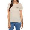 Animal Advance Womens Short Sleeve T-Shirt - Vanilla Cream Marl