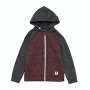 Element Meridian Block Boys Zip Hoody