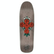Santa Cruz Dressen Rose Cross Pre Issue 9.31 Inch Skateboard Deck