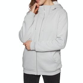 SWELL Holborn Womens Zip Hoody - Grey Marle