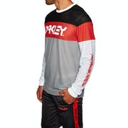 Oakley Tnp Color Block Sweatshirt T-Shirt Lange Mouwen