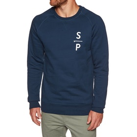 Surf Perimeters The SP Crew Sweater - Navy