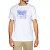 Rip Curl Fadephoto Short Sleeve T-Shirt - Optical White