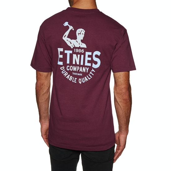 T-Shirt de Manga Curta Etnies Blue Collar