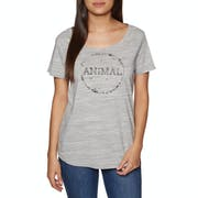 Animal Dotwork Womens Short Sleeve T-Shirt
