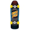Santa Cruz Style Dot Street 31.7 Inch Cruiser - Black/yellow