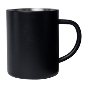 Mizu Camp Mug - Stainless w Black
