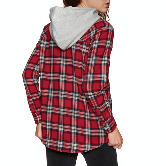 SWELL Hooded Womens Shirt