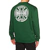 Sudadera Independent Two Tone Crew - Forest Green