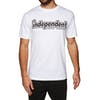Independent Outline Short Sleeve T-Shirt - White