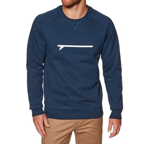 Surf Perimeters The Icon Crew Sweater - Navy