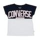 Camiseta de manga corta Girls Converse Worldwide Femme